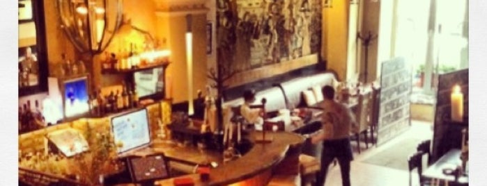 Скромное обаяние буржуазии is one of кафе-бары.