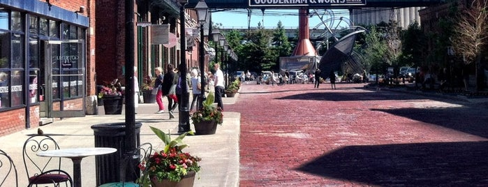 Historic Distillery District is one of Toronto - June 2013.
