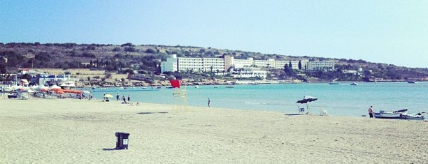 Ghadira Bay Beach is one of Malta.