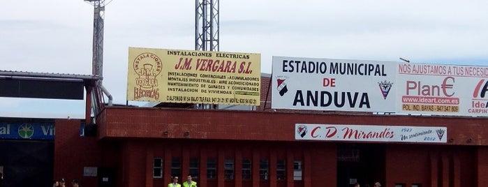 Estadio Municipal de Anduva is one of Campos de fútbol.