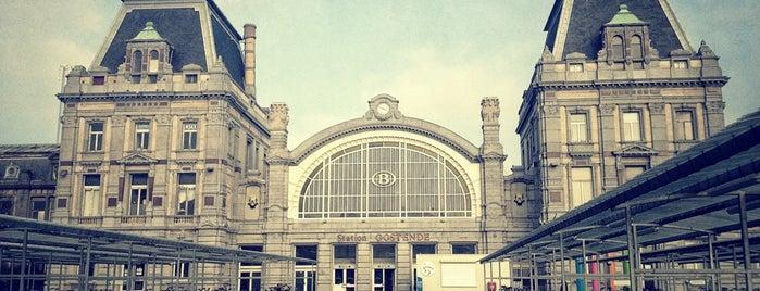 Station Oostende is one of Bijna alle treinstations in Vlaanderen.