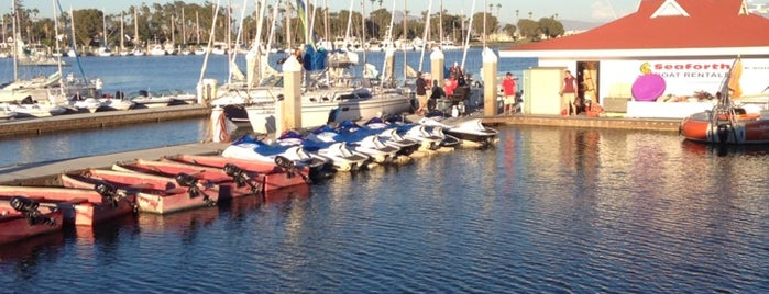 Bluewater Boathouse Seafood Grill is one of San Diego.