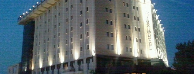 Almira Hotel Thermal Spa & Convention Center is one of Hotels.
