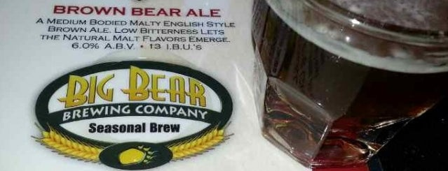 Big Bear Brewing Co. is one of Places I've ate at.