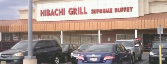 Hibachi Grill Buffet is one of Baltimore To-Do List.