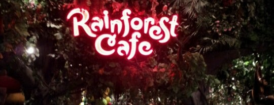Rainforest Cafe is one of Dan's Places.