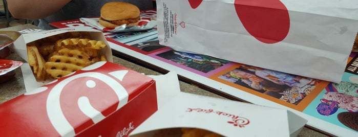 Chick-fil-A is one of Places tried: recommend.