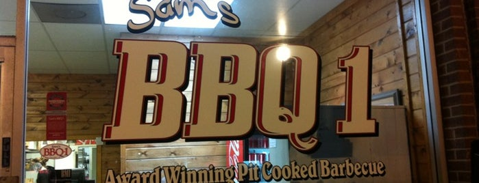 Sam's BBQ 1 is one of Eat/Drink Local.
