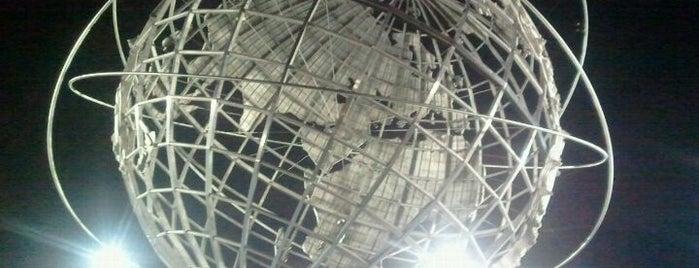 The Unisphere is one of My Astoria/Queens.