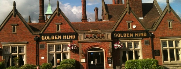The Golden Hind is one of Must-visit Food or Drink in Cambridge.