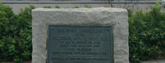 Pilgrims' First Landing Park is one of Provincetown.