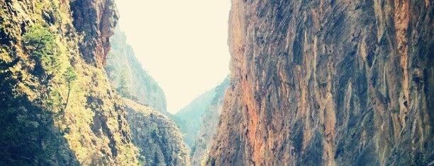 Samaria Gorge is one of Greek gems.