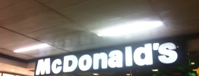 McDonald's is one of Aeroporto de Guarulhos (GRU Airport).