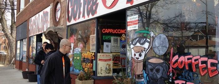 Jackalope Coffee & Tea is one of Chicago Favorites.