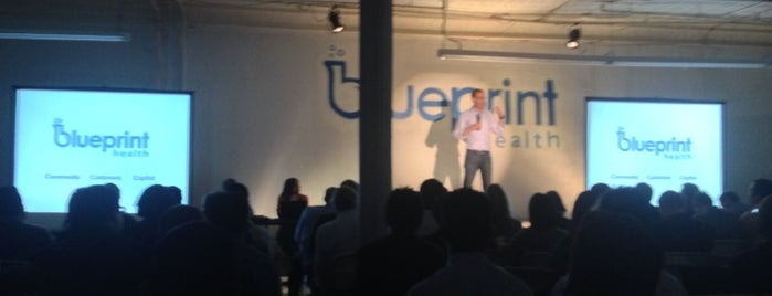 Blueprint Health is one of Startups & Spaces NYC + CA.
