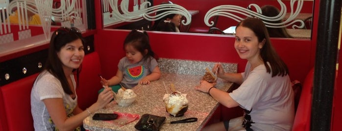 Sarris Ice Cream Parlor is one of fav places.