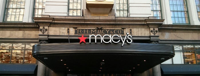 Macy's is one of New York.