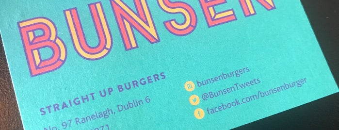 Bunsen is one of Dublin - the ultimate guide.