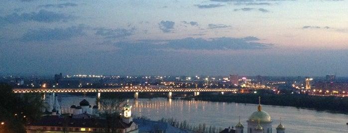 Верхневолжская набережная is one of Что посмотреть в Нижнем Новгороде.