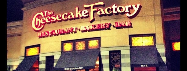 The Cheesecake Factory is one of San Antonio.