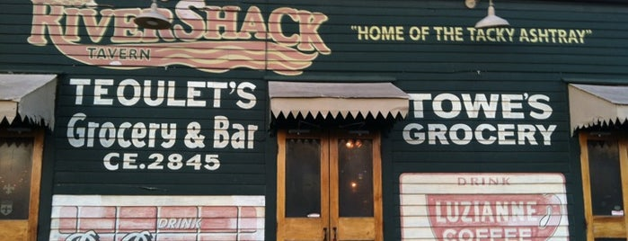 Rivershack Tavern is one of OffBeat's favorite New Orleans music venues.