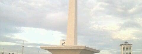 Monumen Nasional (MONAS) is one of Jakarta. Indonesia.