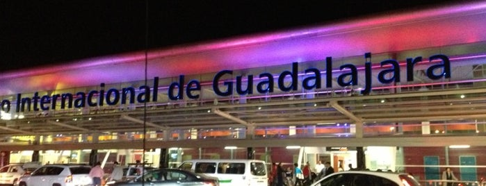 Guadalajara International Airport (GDL) is one of Airports.