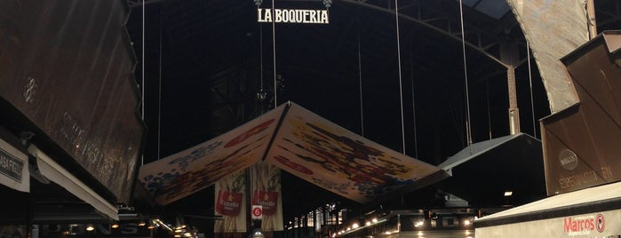 Mercat de Sant Josep - La Boqueria is one of Go there!.