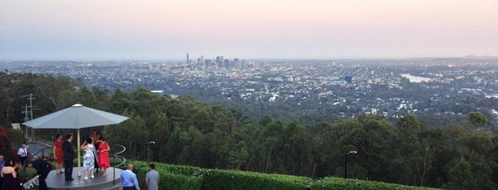 Mount Coot-tha is one of Ben's Top 10 favourites places in Brisbane.