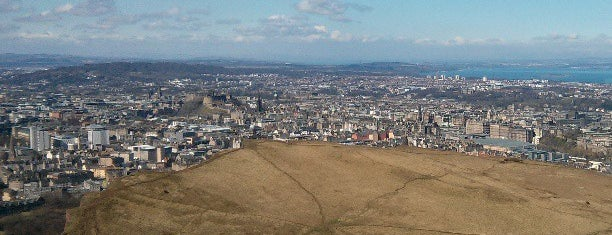 Arthur's Seat is one of Scotland.