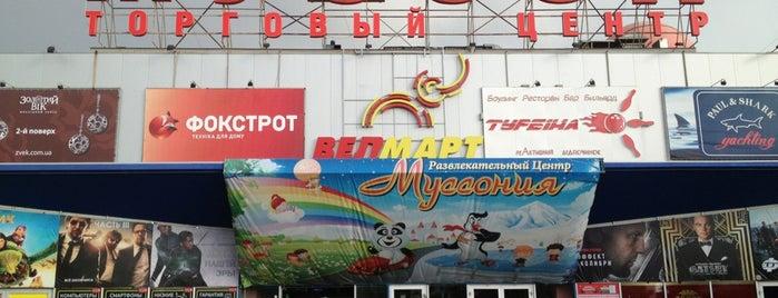 "ТРЦ ""Муссон"" is one of Севастополь."