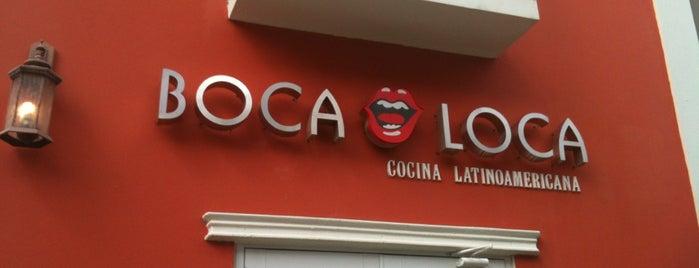 Boca Loca Cocina Latinoamericana is one of Puerto Rico Restaurants.