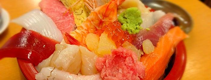 たぬきすし is one of 浜松町・大門でランチ.