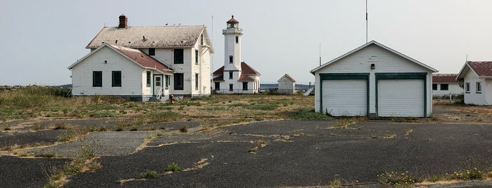 Point Wilson Lighthouse is one of Seattle To-Do.