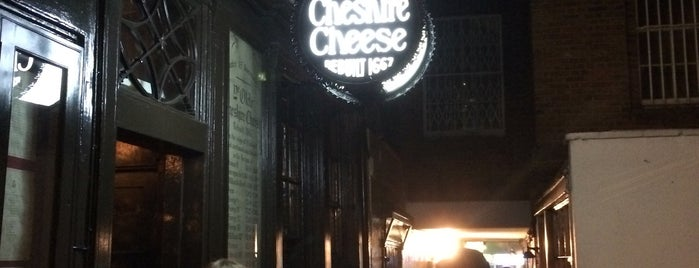 Ye Olde Cheshire Cheese is one of Attractions to Visit.