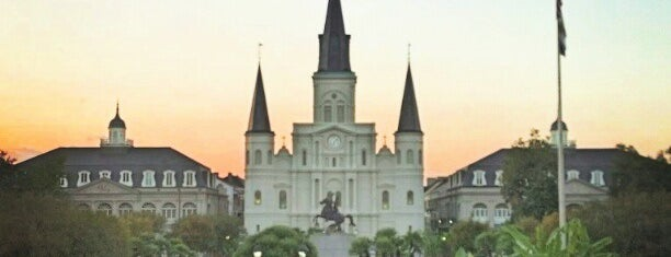 Jackson Square is one of New Orleans Trip.