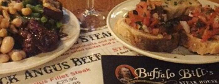 Buffalo Bill is one of 20 favorite restaurants.