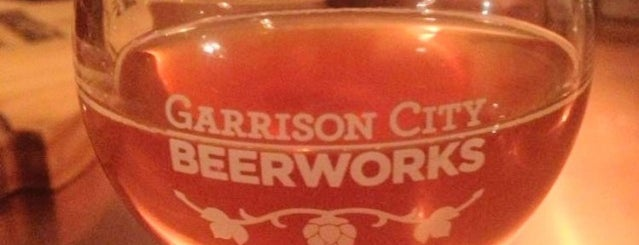 Garrison City Beerworks is one of New England Breweries.