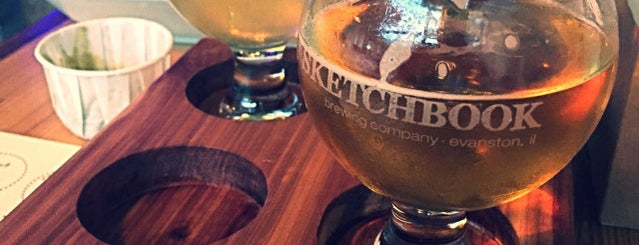 Sketchbook Brewing Co. is one of Chicagoland Breweries.