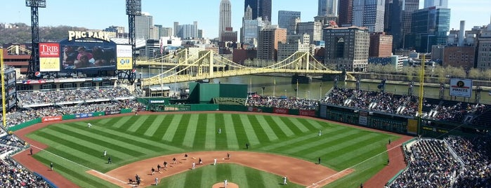 PNC Park is one of The 15 Best Places with Scenic Views in Pittsburgh.