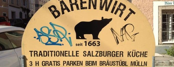 Bärenwirt is one of SALZBURG SEE&DO&EAT&DRINK.