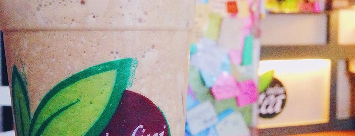 InfiniTea is one of Uber Yogurt.