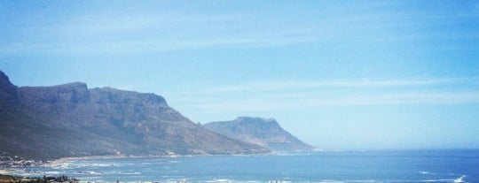 Camps Bay Beach is one of South Africa.