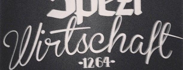 Spezlwirtschaft is one of Munich AfterWork Beer - Hau di hera, samma mehra!.