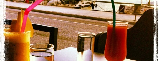 Pleasures Seaside Cafe & More is one of The best after-work drink spots in Volos.