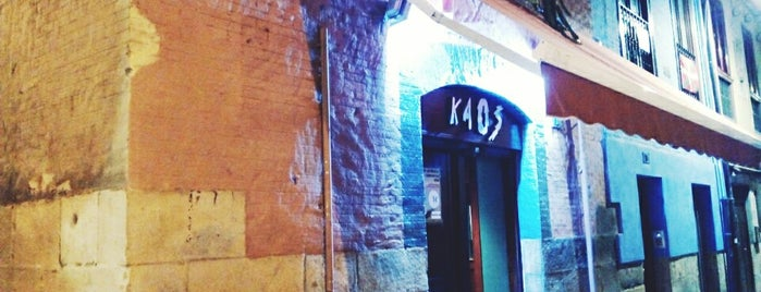 Kaos is one of diferentes ciudades.