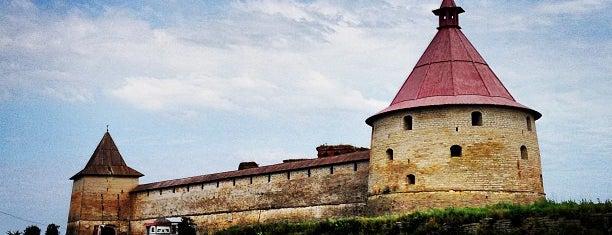 Крепость Орешек is one of Интересное в Питере.
