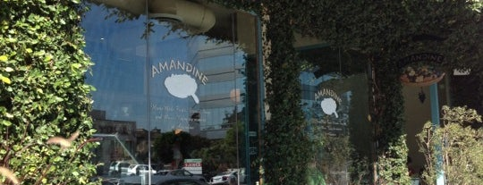 Amandine Patisserie Cafe Brentwood is one of The 15 Best Places for Pastries in Los Angeles.