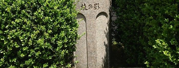 桂の影 is one of 近現代.