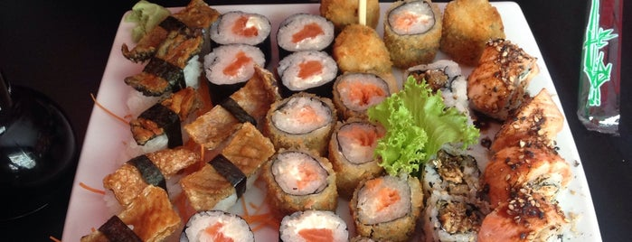 Sushikin Bar is one of Restaurantes ChefsClub: Fortaleza.